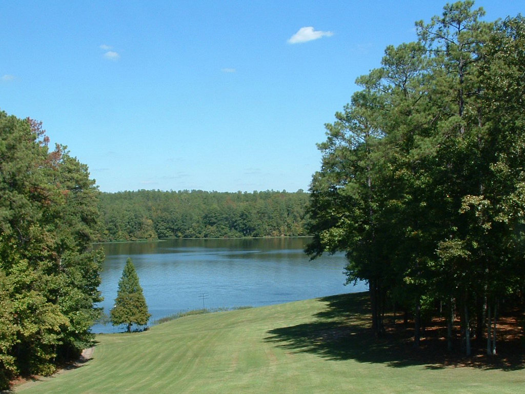 View of Lake from Guthrie Lodge