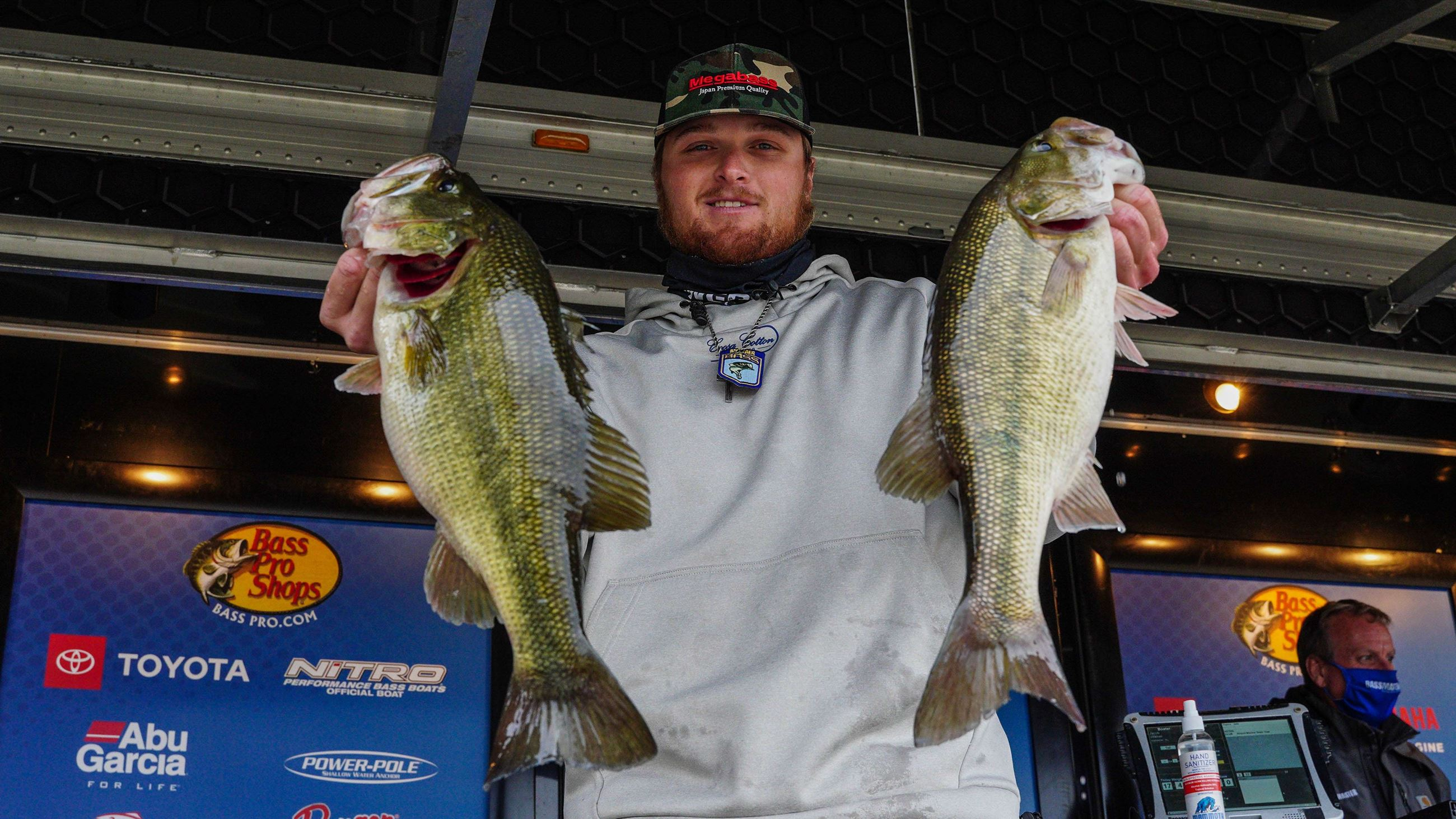 Bassmaster Eastern Open At Lay Lake 2020 - Day 1 Winner